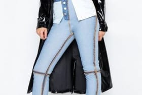 We are only a few weeks into the year and UK retailer Boohoo may have already released what will be one of the most absurd design trends of this year, 'inside-out' jeans.