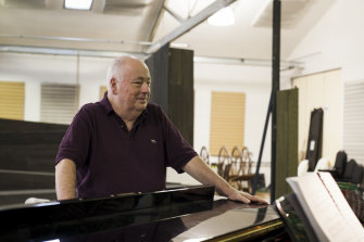 Director Roger Hodgman, renowned for his television and theatre work, as well as musical theatre.