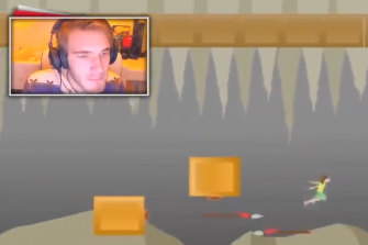 Fans subscribe to watch Kjellberg play video games.
