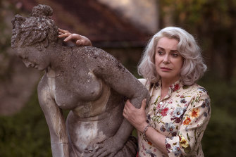 Catherine Deneuve plays a fading matriarch in Claire Darling.