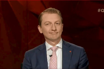 James Paterson, a Liberal senator and former fellow at the conservative Institute of Public Affairs.