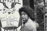 Betty Burstall. founder of La Mama, in January 1973.