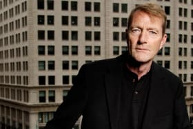 British author Lee Child says he writes all his books seat-of-the-pants-style and finds out what's happening in the story as he goes along.
