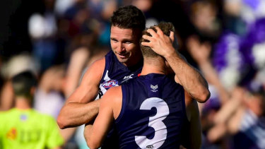 Jesse Hogan's pre-season at Fremantle was magnificent but he won't be playing in round one after consuming alcohol on the weekend.