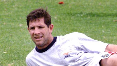 Incoming independent commissioner Mark Coyne during his playing days.