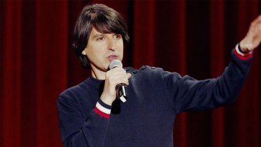 Demetri Martin can play any audience like an orchestra.