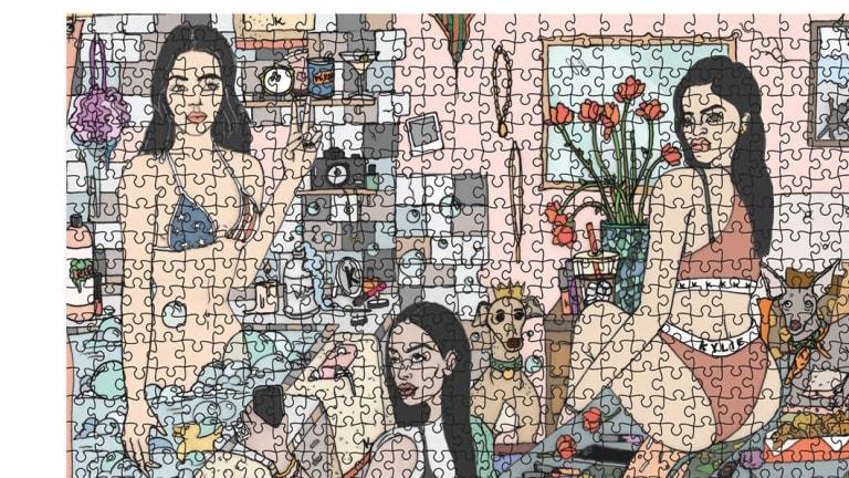Kardashian jigsaw.