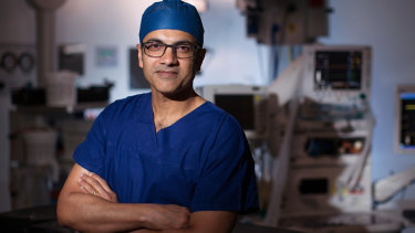 Associate Professor Anand Deva,head of cosmetic plastic and reconstructive surgery in the faculty of medicine and health sciences, Macquarie University.