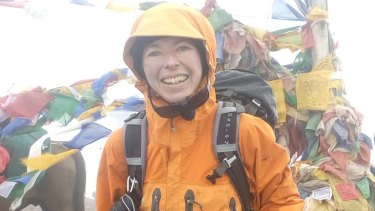 Sydney woman Ruth McCance was among the group of eight mountaineers hit by an avalanche on Nanda Devi East.
