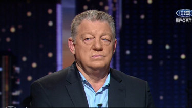 Through to the keeper: Phil Gould has refused to respond to comments from Panthers CEO Dave O'Neill.