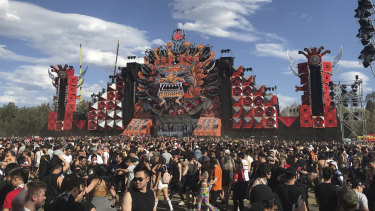 Two people died at the Defqon music festival.
