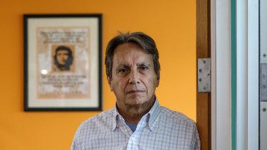 Juan Sanchez, CEO of Southwest Key Programs, at his office in Austin, Texas.