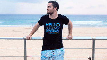 Social experiment turned charity: Hello Sunday Morning founderChris Raine.