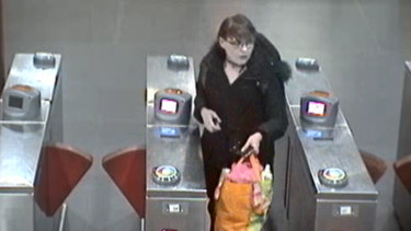 This CCTV image taken at Museum station is the last time Nicole Cartwright was seen alive.