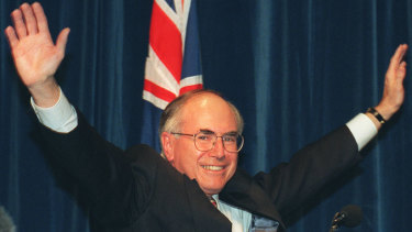 John Howard promised a new home for the National Museum of Australia before winning the 1996 election.