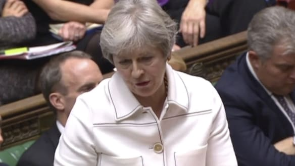 'Complete chaos and a total mess': MPs deliver Brexit verdict to May