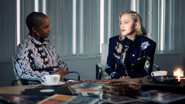 Madonna discusses hew new song in the lead up to her big comeback.