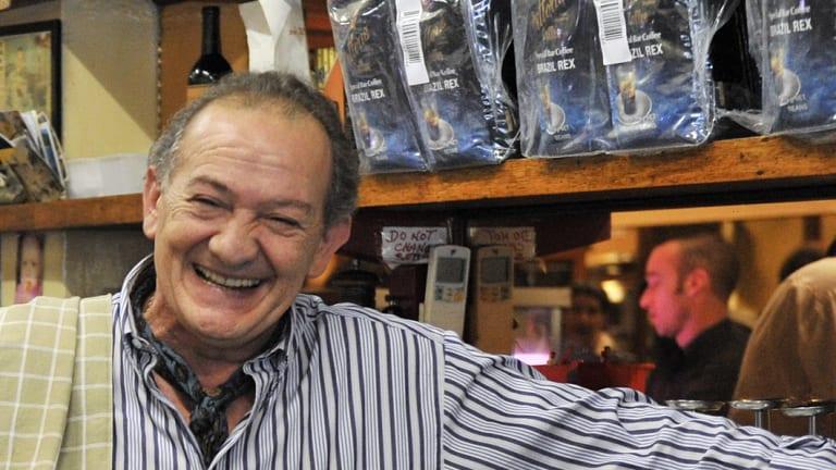 Sisto Malaspina in Pellegrini's in 2010.