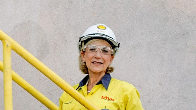 Lynas chief executive Amanda Lacaze.