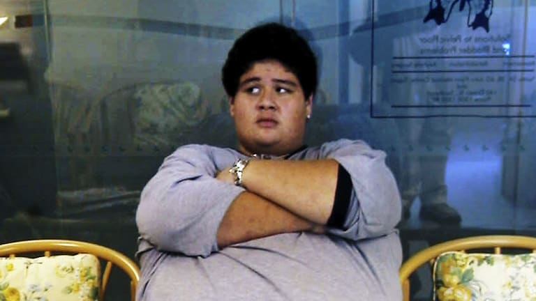 An obese teen from the South Pacific.