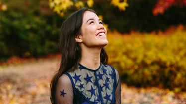 Singer-songwriter Lucy Sugermanis excited to be performing with the Canberrra Youth Orchestra.