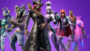 Many older children will be playing the new season of Fortnite these school holidays.