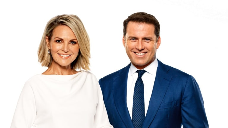 Stefanovic with his 'Today' co-host, Georgie Gardner.