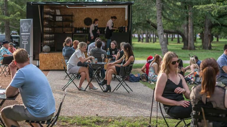 The Pop Inn serves up a storm in Haig Park.