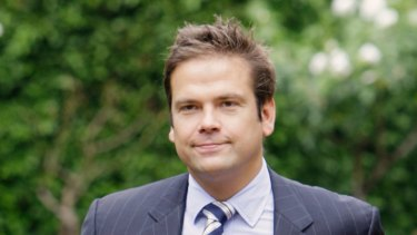 A different vision for Fox News and differences with his father: Lachlan Murdoch.