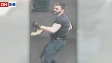An image of a third man involved in the attack outside the Comic's Lounge.