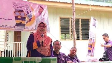 Malaysian MP, Fuziah Salleh