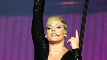 Singing superstar Pink kicked off her Australian tour in Perth - catch her last two shows this weekend.