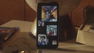 Group FaceTime has featured heavily in recent Apple ads, after being officially rolled out in October.