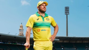 Aaron Finch is struggling with the bat but his stocks as a leader are soaring.