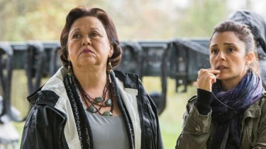 Amy Hill as Dr Wagerstein in Unreal.