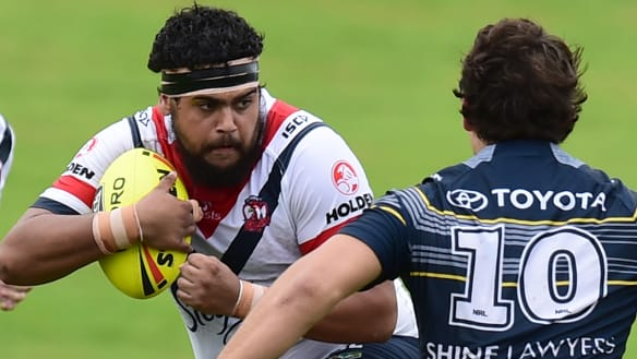 Latrell Mitchell ready to welcome big brother to NRL