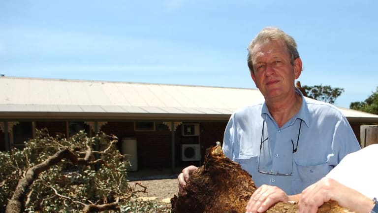 Karel Zegers, pictured at his Marong property near Bendigo in 2006.