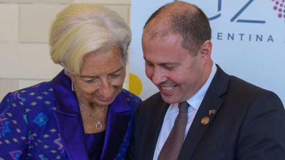 The G20 is a talkfest we need to keep talking