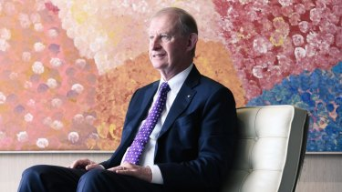 A number of institutional shareholders had threatened to vote against the election of chairman David Murray due to festering anger at AMP's decision to sell its life business.