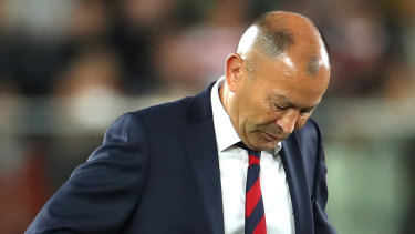 The Rugby World Cup final was a game to forget for England coach Eddie Jones.