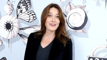 Singer and former French first lady, Carla Bruni Sarkozy, sets the chic bar high.