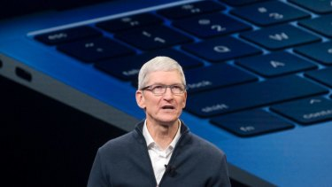 Apple's Tim Cook sent a letter to shareholders that rattled the markets.