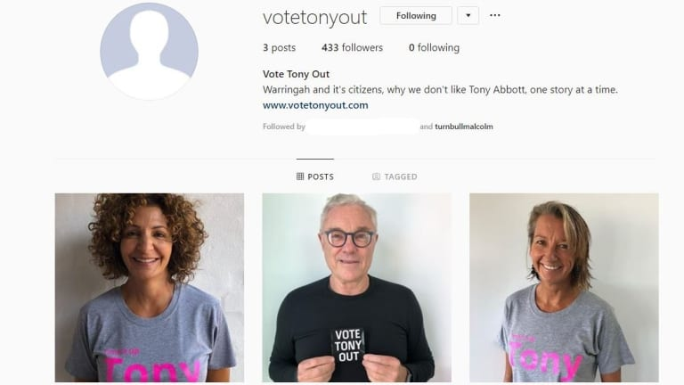 Malcolm Turnbull follows the account, along with wife Lucy and son Alex.