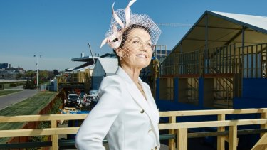 Driving force: Amanda Elliott, the first woman to lead the VRC in its 153-year history.