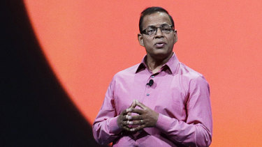 Former Google executive Amit Singhal.