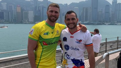 St Edmund's schoolmates unite for Hong Kong sevens after jobsite dream