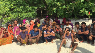 Thai officials discovered 65 ethnic Rohingya Muslim refugees shipwrecked and stranded on a beach at Rawi island, southern Thailand last week.