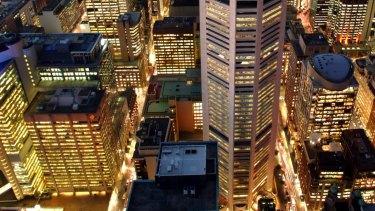 Sydney's MLC Centre is a landmark building.