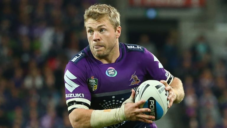 Home straight: Former Storm utility Ryan Hinchcliffe has just two games remaining in his career.