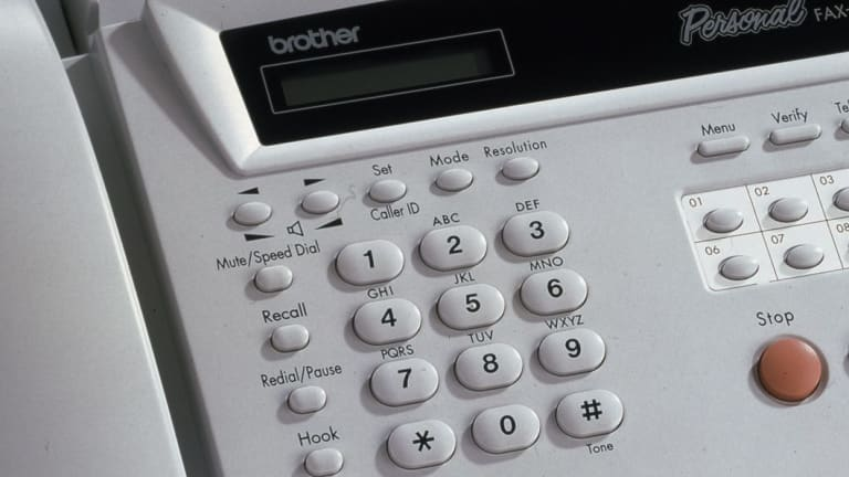 A Brother multi-function phone/fax/copier, circa 1999.